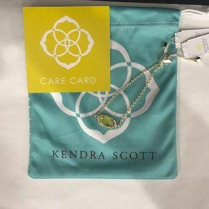 NWT. Kendra Scott Elaina bracelet. August stone.
